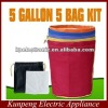 EXTRACTOR herbal 5 GALLON 5 BAG KIT Bubble hash Bags
