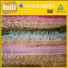 weft and tricot polyester knitted toy fabric