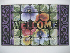 nylon printing door mat in different designs