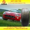CAR TIRE WITH E-MARK S-MARK REACH