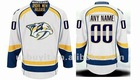 Predators jersey Customized White Authentic Jerseys Free Shipping Wholesale Mix Order