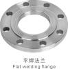 Flat welding flange