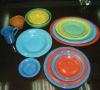 Solid color glaze hotelware ceramic dinnerware
