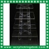 5 TIER SQUARE ACRYLIC CUPCAKE STAND