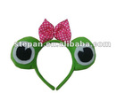 PLush Frog Head Band Princess For Kids HB-53001