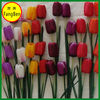 Hotel and Home Decoration Artificial Silk Single Stem Artificial Tulip Arrangement (FB013929)