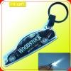 promotion gift custom plastic led keychain