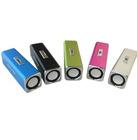 portable professional aluminum tube audio speaker ,mini speaker