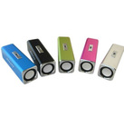 portable professional aluminum tube audio speaker ,mini speaker