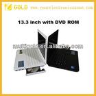Popular laptop 13.3 inch WIFI 3G netbook/notebook (0S: Windows7/Windows XP)
