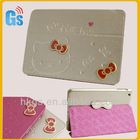 For Ipad Mini Bow Hello Kitty 3D Smart PU Leather case