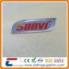 special shape crystal badge for uniform