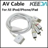 For iPhone 3GS Audio Video Cable AV Cable