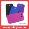 Cheap Mobilephone rubber feeling plastic case for Samsung galaxy s3