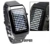 72 LED White Light All Metal Men's Wrist Watch