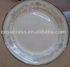 russia style fine chinaware plate fine bone china ware