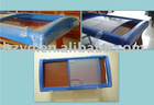 Curved glass door for Chest freezer parts