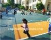 Outdoor interlocking modular kids rubber floor mats