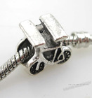 2012 New Wholesale and Europe hot sale Bicycle Charms metal Beads Fit DIY Jewelry Making for Bracelets 8A008