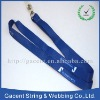 Worker badge holder lanyard