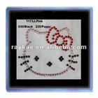 Heat transfer rhinestone craft