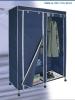 sliding storage protable non-woven wardrobe