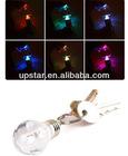 Colorful Bright Light Led Bulb Keychain