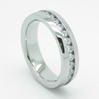 CZ Set 316L Stainless Steel Rings
