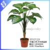 Artificial Rohdea Japonica with 15 leaves