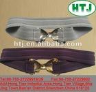Fashion elastic belt with steel buckle