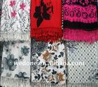 fashion floral pashmina shawls scarf