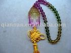 Colorful Pingan Crystal car pendant