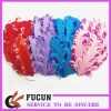 Mixed color curly feather pads / hair accessory