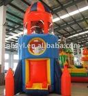 Rocket Inflatable advertising model