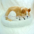sleeping dog sleeping pet snoring pet imitation sleeping animal