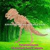 3D Wood dinosaur Puzzle,T-Rex