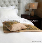 Suede knitted fabric bedrunner,bed cushion,cushion cover