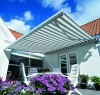 out door retractable awning