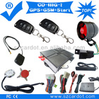 Top Quality GPS car alarm ,GPRS function,moble start,remote start module built in,finger touch start,learning code model.
