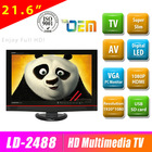2012 Sale best high quality 21 inch led tv with OEM acceptable