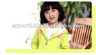 Girls french terry jacket