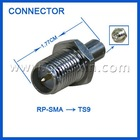 sma to ts9 and ts9 to sma connector adapter
