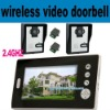 outdoor wireless video doorbell with 7 inch screen, intercom, night vision