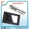 7 inch industrial touch panel pc with 800x480 pixels resolution
