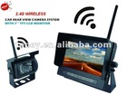 NEW- 7 Inch 2.4G Wireless Car Rearview System, Wireless Monitor with Truck or Bus Camera (UN-WMC-T703SV),with Sunvisor Cover