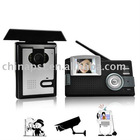 2.4G 2.4'' TFT wireless video intercom system