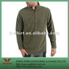 100% polyester fleece gray green winter casual sport wear