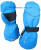 winter sports long cuff mittens