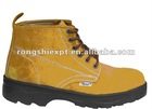 RSS2118 Genuine Leather PU Sole EN Standard Safety Shoes