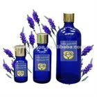 paint lavender massage oil in magic glass bottle 100% natural herbal
